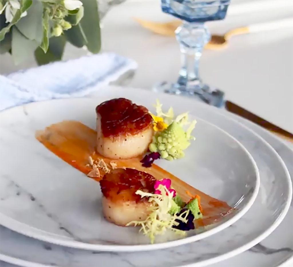 scallop-dish-heidi-pratt-baby-shower-colettes-catering