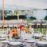 Beautiful Orange County Wedding Reception