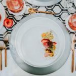 Burrata _ Beet Salad Tablescape