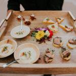Foodie Wedding Colette_s Catering Muckenthaler Mansion