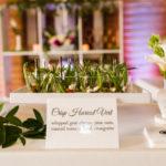 Haricot Vert Served at Giracci Vineyards