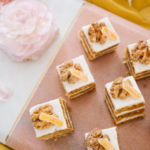 Mini Carrot Cake Petite Dessert Display
