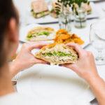 Orange County Corporate Catering Company Sandwich