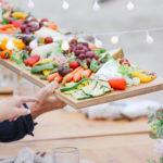 Serving the Grilled Vegetable Platter